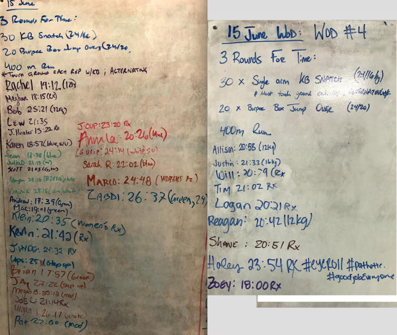 *NEW* Test Week WOD #4