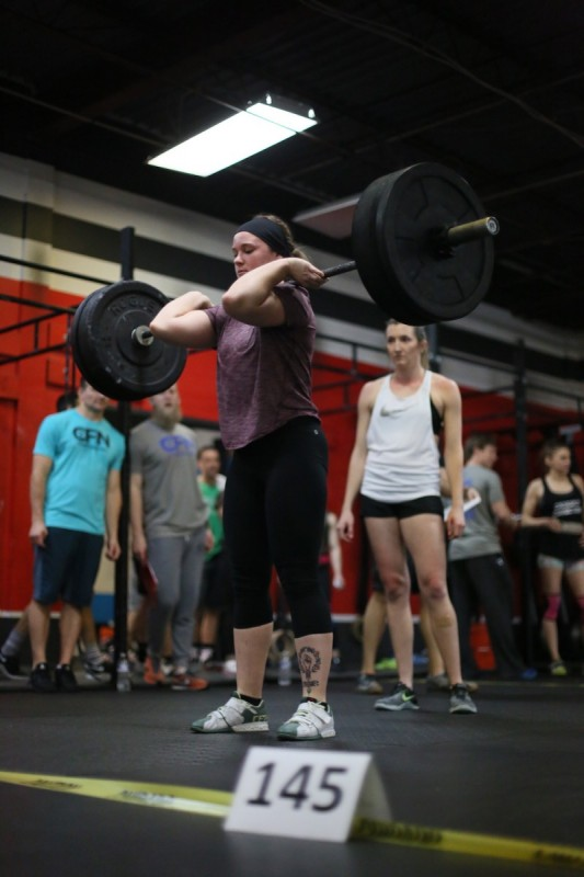 Sarah Riddle's B-Day WOD