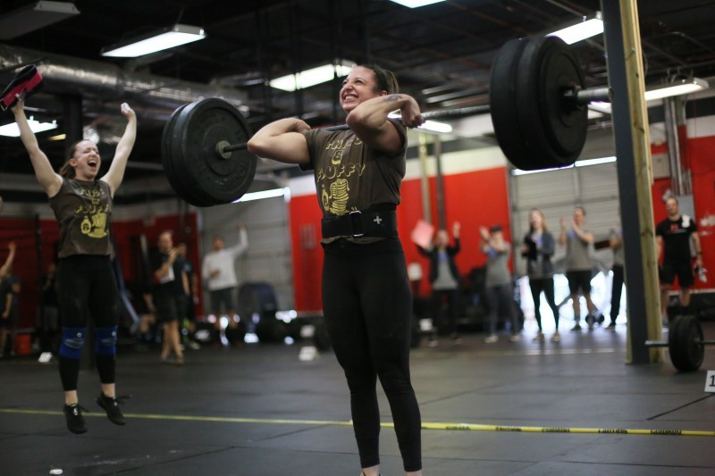 Katie Giglio's B-Day WOD