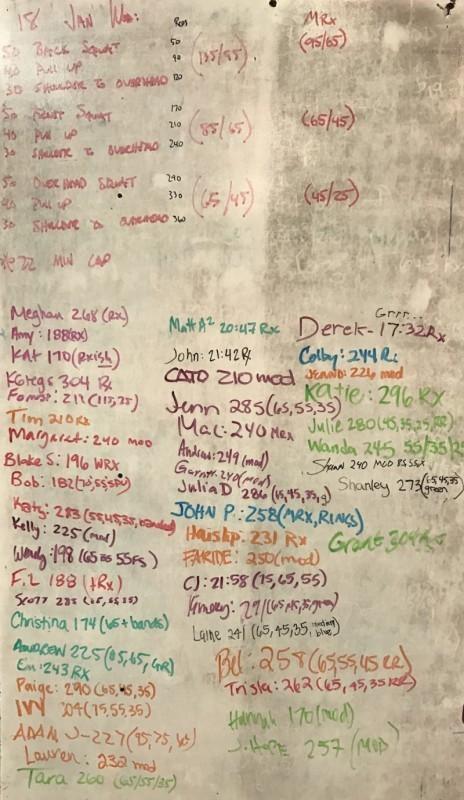 2012 Regional Workout 4