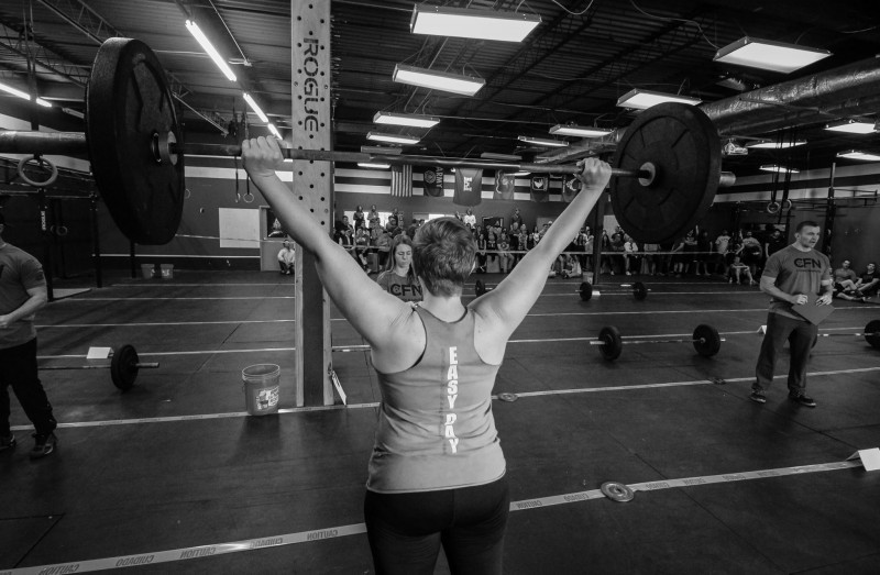 Katie Lane's B-Day WOD