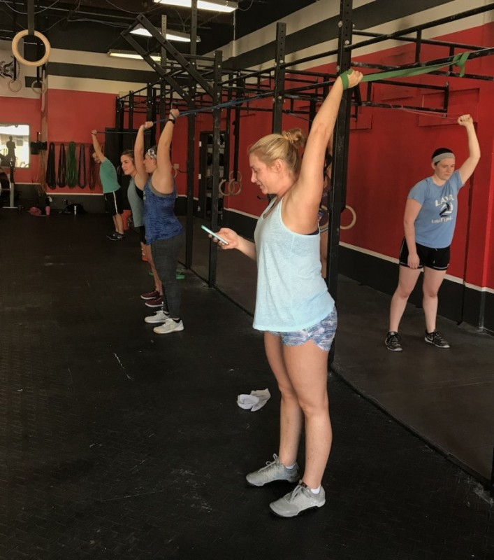 Brittni Lincoln's B-Day WOD