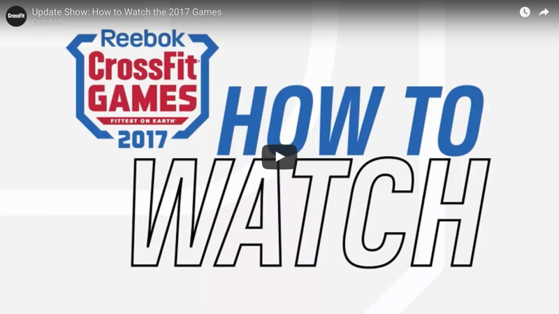 The CrossFit Games Start Today!