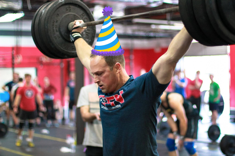 Colby's B-Day WOD