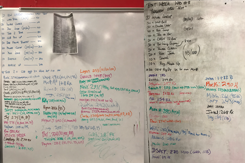 Test Week WOD 3