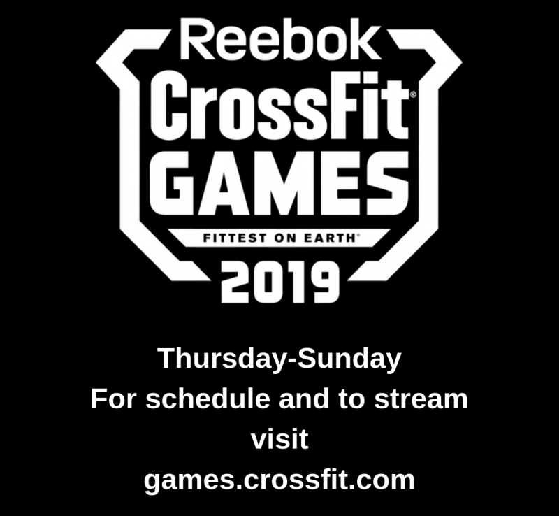 2019 CrossFit Games are Here!