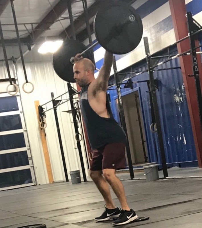 Jay Foster's B-Day WOD