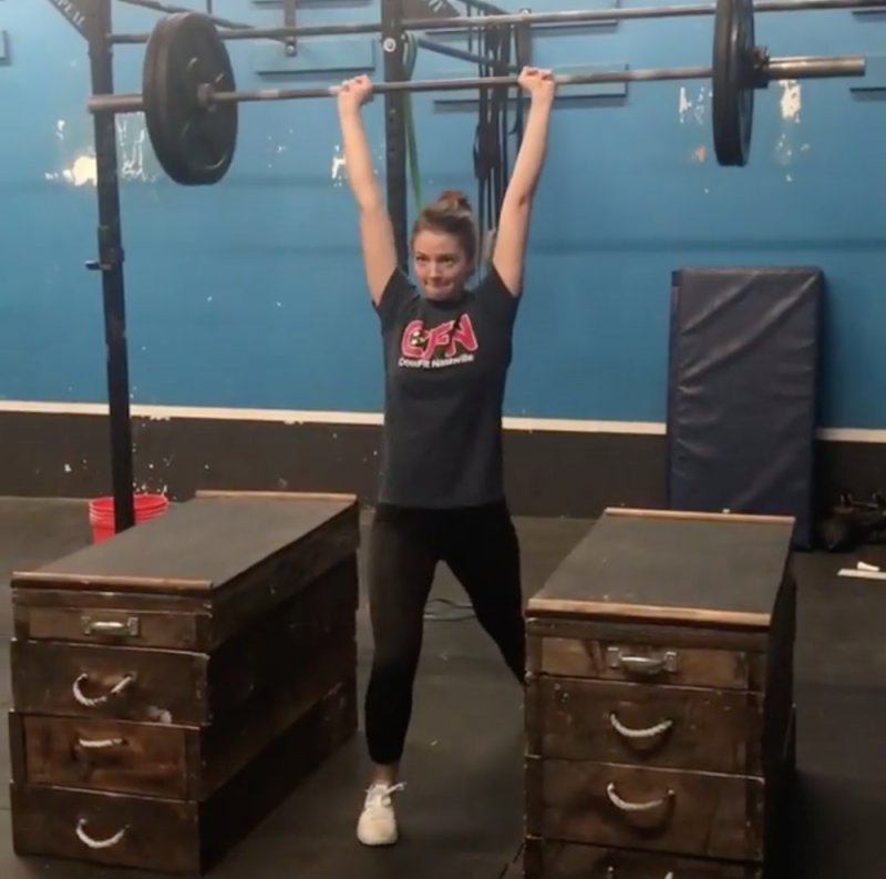 Margaret's B-Day WOD